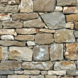 Stock Photo: Old wall in stones