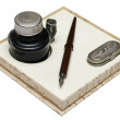 Pen and quill — Stock Photo #1917230