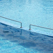 Pool with stair - Stock Photo