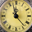 Antique clock — Stock Photo #1996090