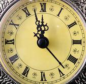 Antieke clock — Stockfoto
