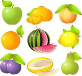 Jogo da fruta — Vetorial Stock