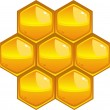 Honeycomb — Stockvectorbeeld