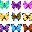Set of butterfly — Stock Vector #1838472
