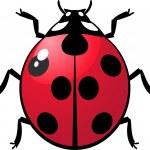 Ladybug — Stock Vector #1842367