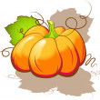 Pumpkin — Vector de stock #1851823
