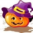 Halloween Pumpkin - Imagens vectoriais em stock