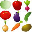 Vegetables set — Stock Vector #1851862