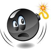 Bomb - series of cartoon bombs — Stock Vector