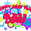 Royalty-Free Stock Imagen vectorial: Happy New Year