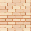 Brick wall — Stock Vector