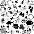 Set of elements for design - Stock Vector