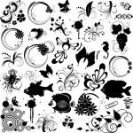 verzameling elementen voor ontwerp — Stockvector