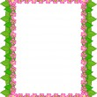 Floral border — Stock Vector #2009197