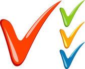 Checkmarks — Stock Vector