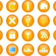 Computer and web vector icons - Stock Vector