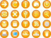 Computer and web vector icons — Stock Vector