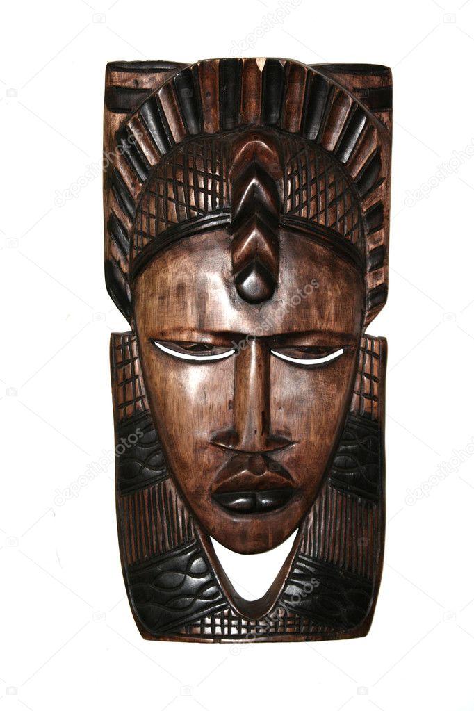 Черная деревянная маска что это такое