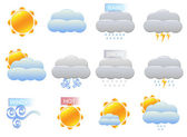 Weather Vector Icons — Stock Vector
