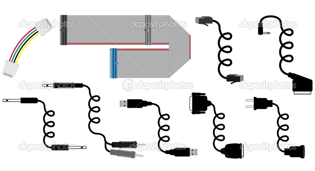 Cables vector illustration  Stock Vector #1826244