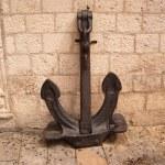 Old iron anchor — Stock Photo #1927330