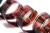 Rolo de 35mm de filme isolado — Fotografia Stock