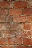 Bricks bind with concrete — Stock Photo