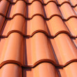 Royalty-Free Stock Photo: Red Roof With Red Tiles
