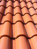 Red Roof With Red Tiles — Stock Photo