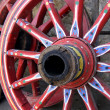 Royalty-Free Stock Photo: Wagon Wheels