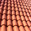 Stock Photo: Red Roof With Red Tiles