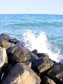 Black sea — Stock Photo