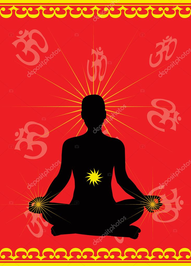 Meditation vector  Stock Vector #2461272