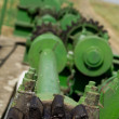 Stock Photo: Green gearing