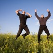 Businessmans jumping — Stock Photo #1906574