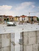 Construction area — Stock Photo
