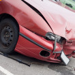 Foto Stock: Car wreck