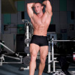 Stock Photo: Bodybuilder posing