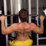 Bodybuilder training — Stock Photo #1919446