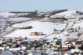 Village in winter — Stock Photo