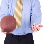 American football coach — Stock Photo #2143828
