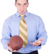 American football coach — Stock Photo
