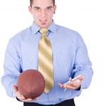 American football coach — Stock Photo #2143834