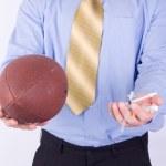 American football coach — Stock Photo #2143839
