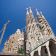 SagradFamiliin Barcelona — Stock Photo #2384810