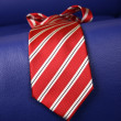 Red necktie — Photo