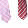 Two neckties isolated on white — Stock Photo