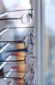 Eyeglasses in store — Stock Photo