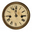 Old clock detail — Stock Photo
