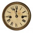Stary zegar detal — Zdjęcie stockowe